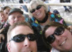 Mike & Karin, Alan & Jennifer, Karin's Guesthouse