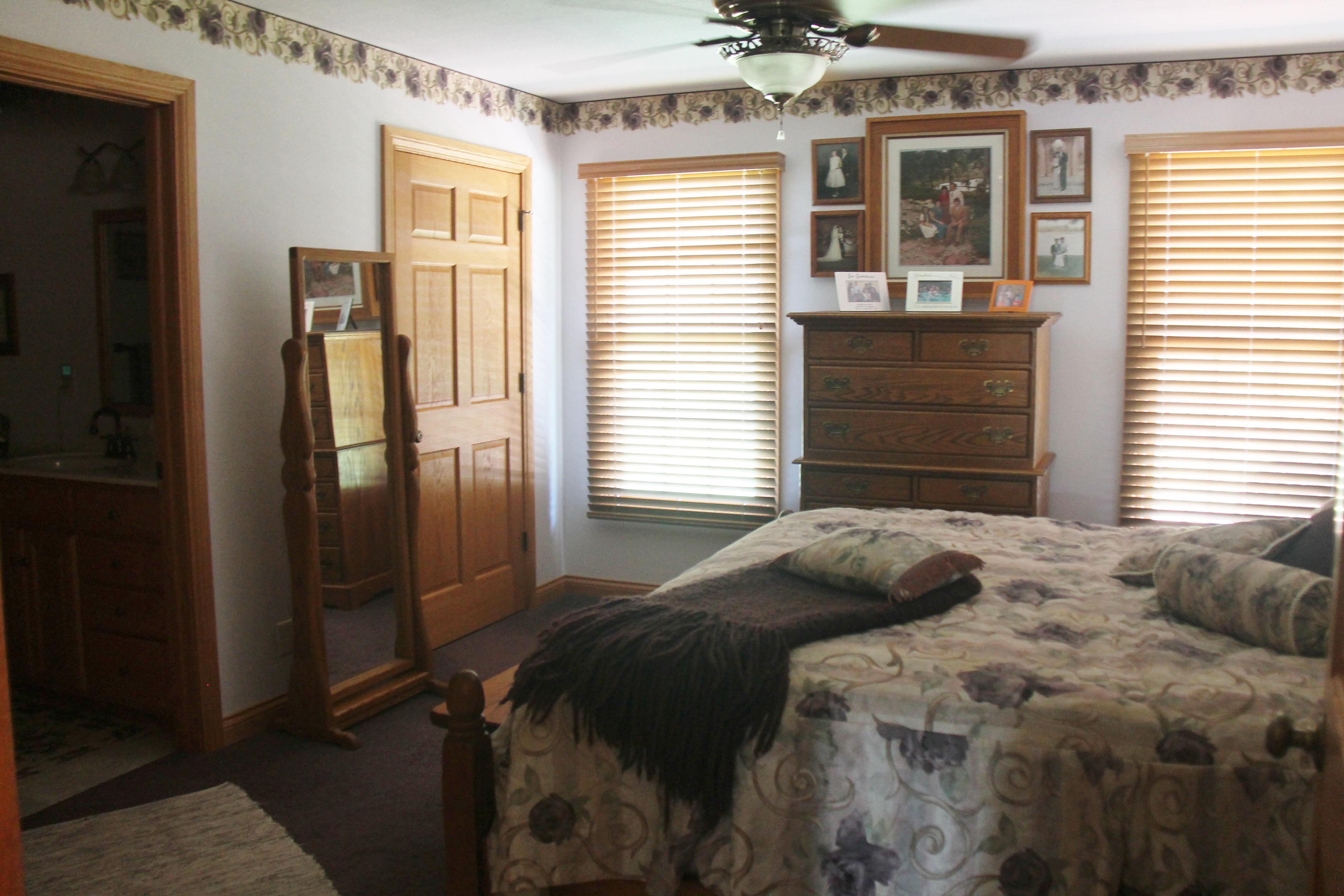 Independent Living master bedroom