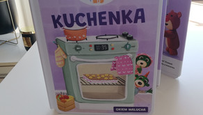 Kuchenka. Bobaski i Miś