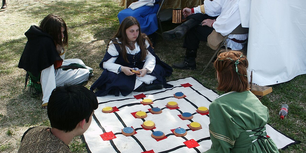 Education Tent and Medieval Games Seminar Day