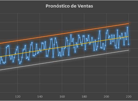Pronóstico de ventas-reducción de inventarios y alto nivel de servicio