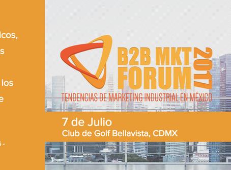 Reseña y Testimoniales: B2B Sales & Marketing Forum 2017