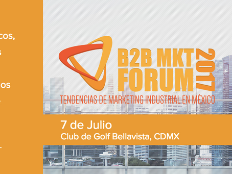 Reseña y Testimoniales: B2B Sales & Marketing Forum 2017