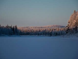 LAPLAND: First time photographing in -23°C
