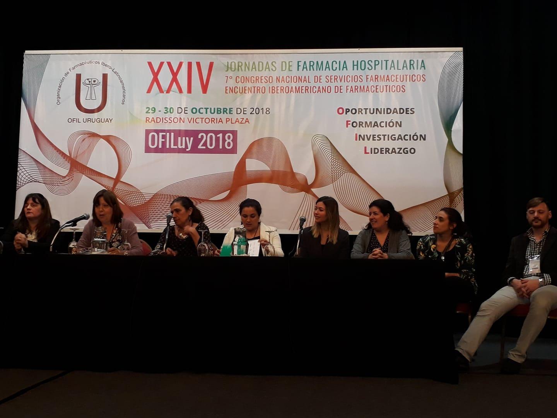 Premiación de los trabajos científicos presentados, todos de excelente calidad y contenido! Comité Científico de Ofil Uruguay