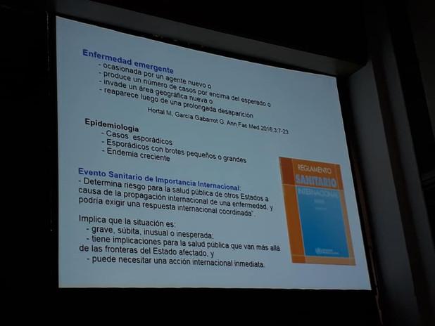 """Tema relevante para la salud pública! """"Enfermedades re-emergentes en la región"""" Dr. Henry Albornoz un especialista referente en nuestro país."""