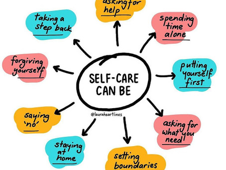 Self Care Can Be...
