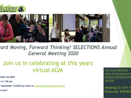 Virtual AGM 2020!