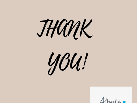 Community Initiatives Grant Thank You Note