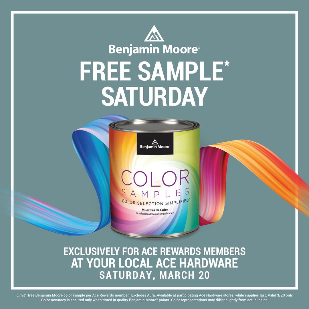 Free Sample Saturday