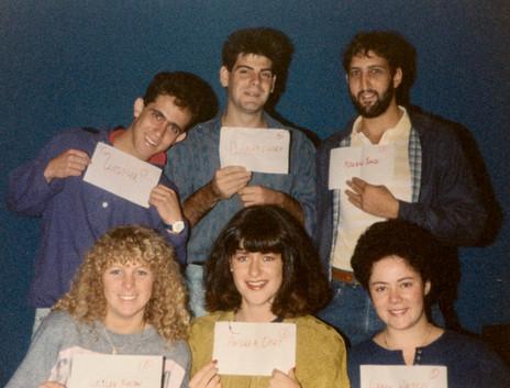 Tim Gasper, Danny Sharp (Musical Director), Bryce Vissel (Lead Guitar), Leslee Kustin, Andrea Opat & Gabby Walters (Stage Manager)