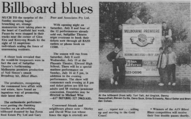 Biloxi Blues 1989