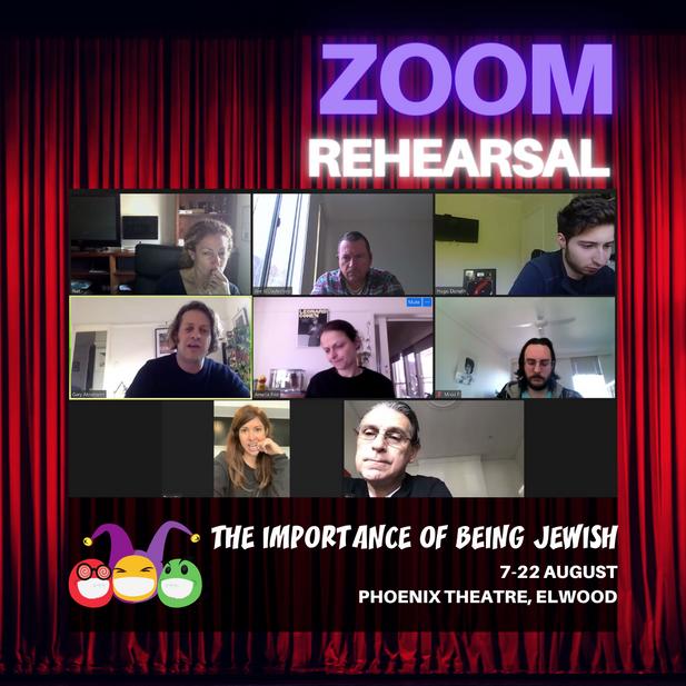 2021 lockdown zoom rehearsal