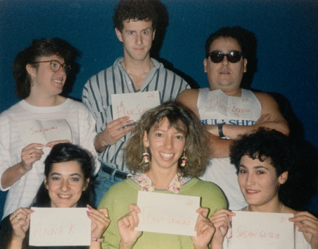 Julie Howard, Ernie Schwartz, David Beresh, Anna Khodorovskaya, Jenny Grinwald & Susan Gotlib