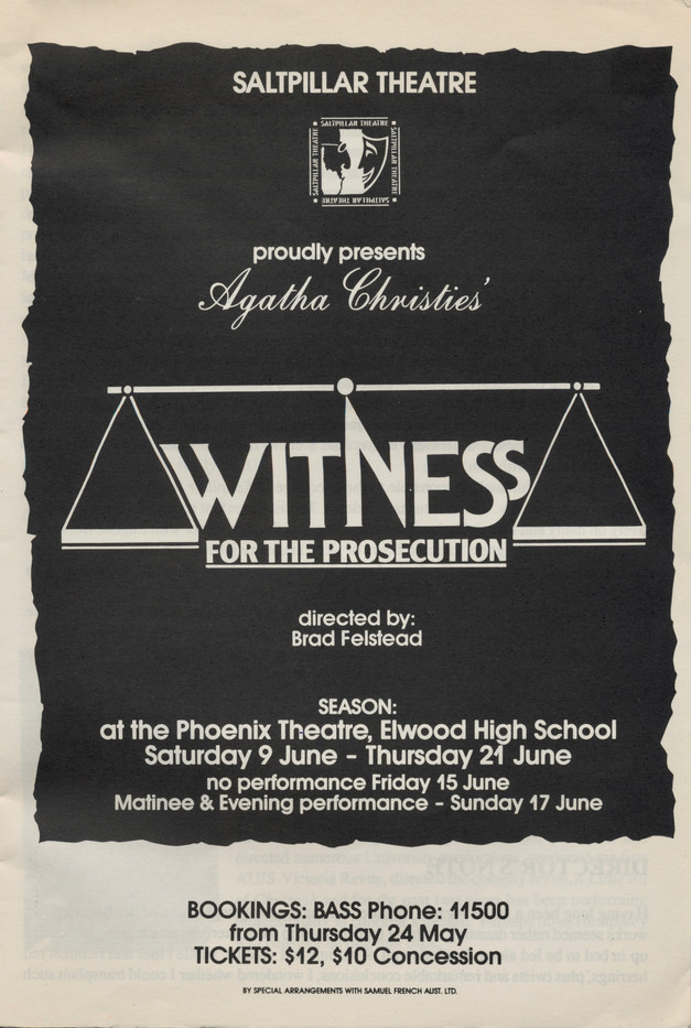 Witness for the Prosecution 1990