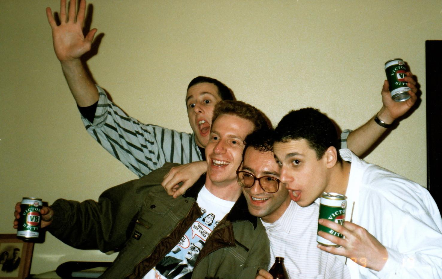 Biloxi Blues Cast Party 1989