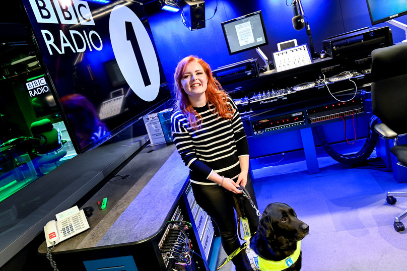 BBC Newsbeat: Radio 1's first blind presenter 'excited to represent disabled community'