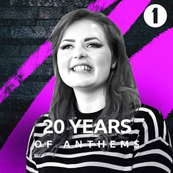 Lucy Edwards on Radio 1 Anthems 2019