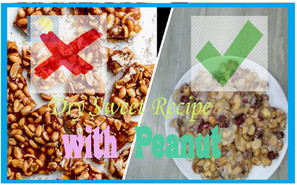বাদাম দিয়ে বানানো একটি অত্যন্ত সহজ ও পরিচিত Dry Sweet Recipe