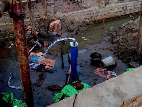 Installation of Submersible Pump ।