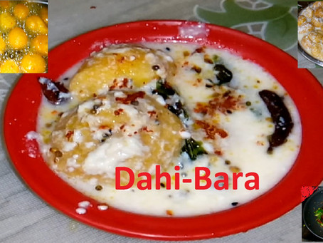 """How to prepare Delicious """"DAHI VADA"""""""