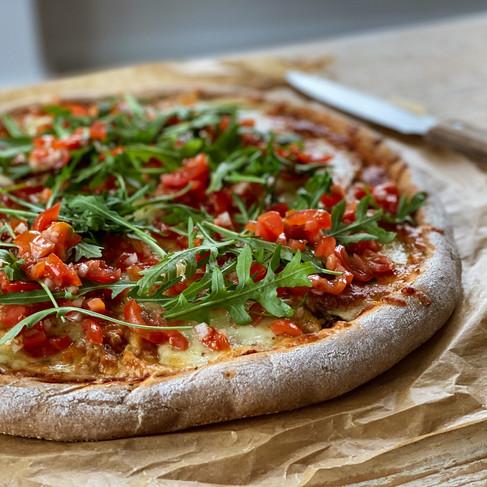 Gesunde Pizza: so machst du dir eine gesunde und leckere Pizza selber