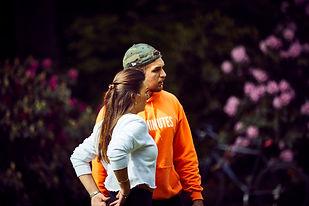Pablo & Nina Outdoor Training