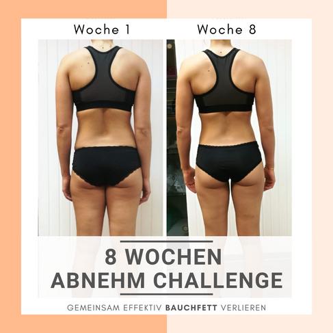 Die 8 Wochen Abnehm Challenge