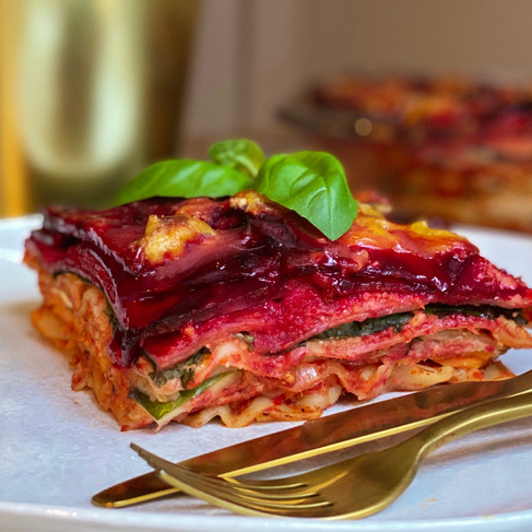 Vegane Gemüse Lasagne