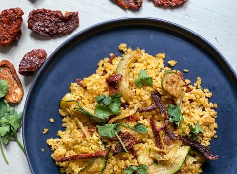 Schneller und leckerer Bulgursalat – Zubereitet in unter 21 Minuten