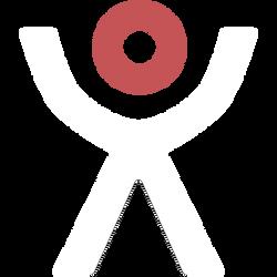 white x-ray guy icon
