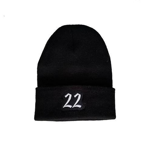 TwentyTwo beanie (black)