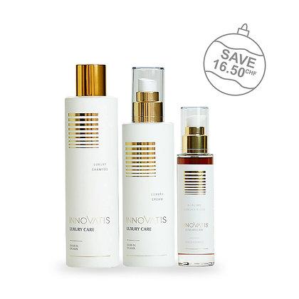 Innovatis - Luxury anti-âge Shampoing, Cream et Huile