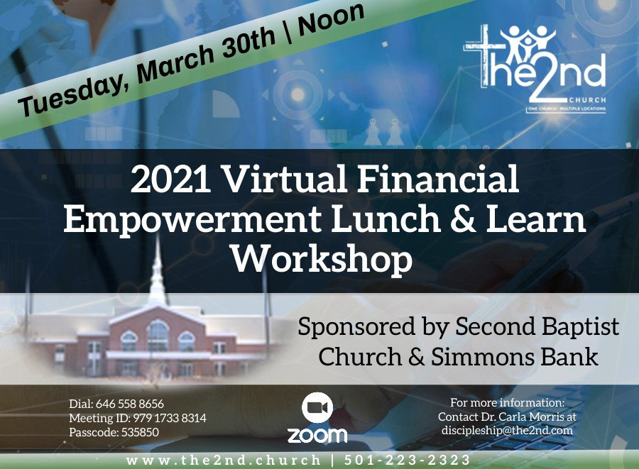 2021 Empowerment Lunch and Learn Worksho