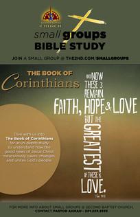 THE BOOK OF CORINTHIANS BIBLE STUDY