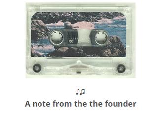 The Cassette // April 2019