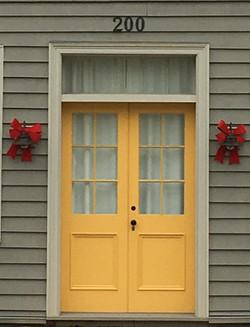 Historic Custom Wood Doors