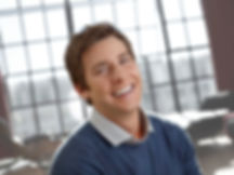 Adult wearing Invisalign