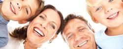 family healthy smiles straight teeth