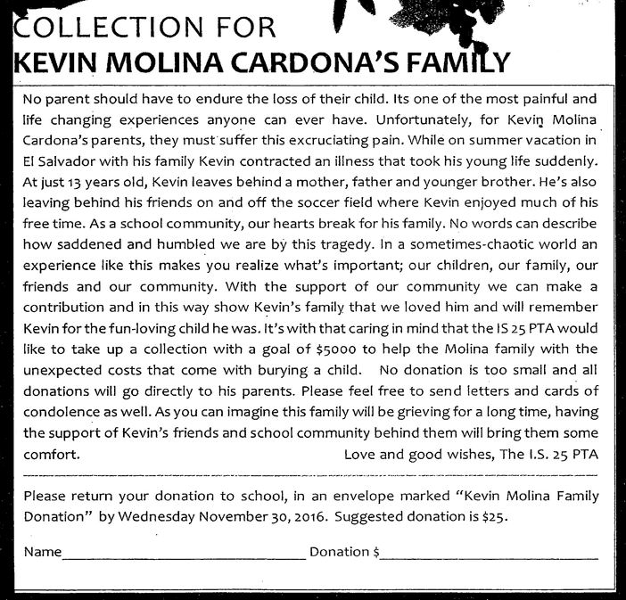 Remembering Kevin Molina Cardona