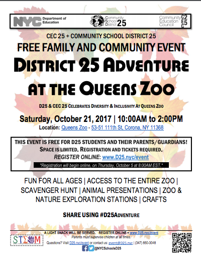 District 25 Day at the Zoo