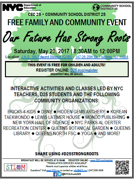 FREE Family and Community Event 5/20