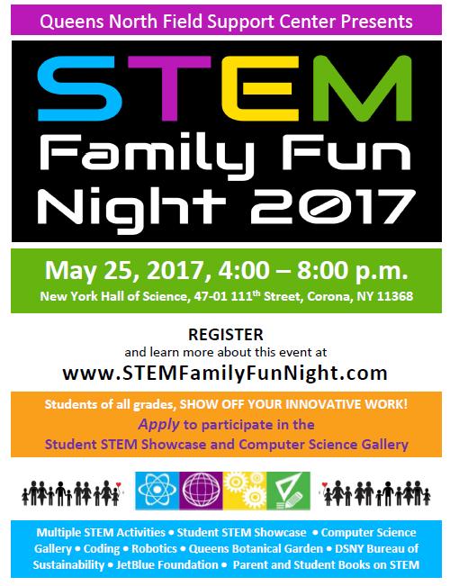 STEM Family Fun Night 5/25