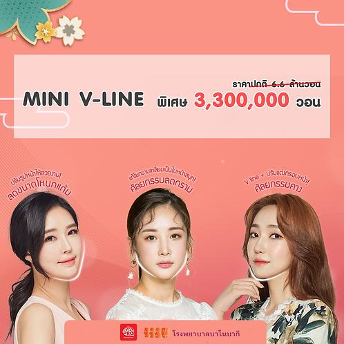 [โรงพยาบาลบาโนบากิ] Mini V-line