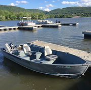 Rental Tiller Motor Boat at Bald Eagle State P