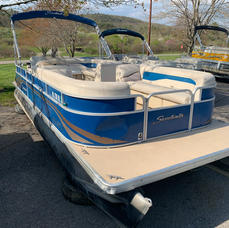 2013 Sweetwater Pontoon Boat 2018 90 HP - $17,900