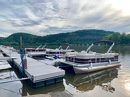 Lake Augusta Boat Rental Fleet at Shikel