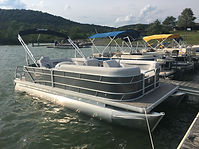 Rental Pontoon Boat at Bald Eagle State Park