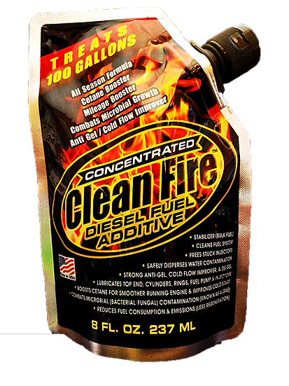 8 Ounce Foil Pack of Clean Fire