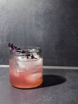 Red Gin Basil Smash